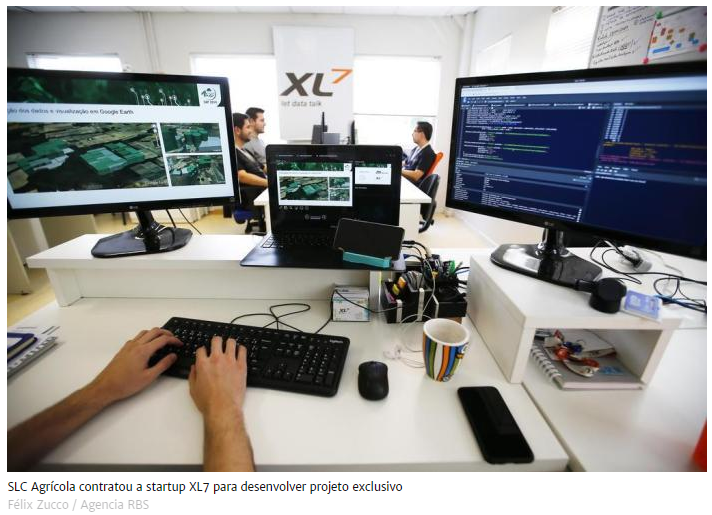 Projeto de Inteligência Artificial da XL7 para o agronegócio é destaque na GaúchaZH